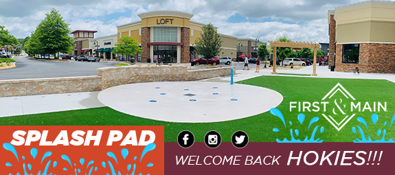 First & Main's Splash Pad Now Open