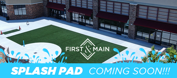 Splash Pad Coming Soon