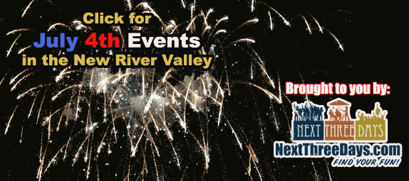 2020 July 4th Events in the NRV