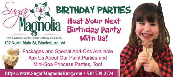 Sugar Magnolia Birthday Parties